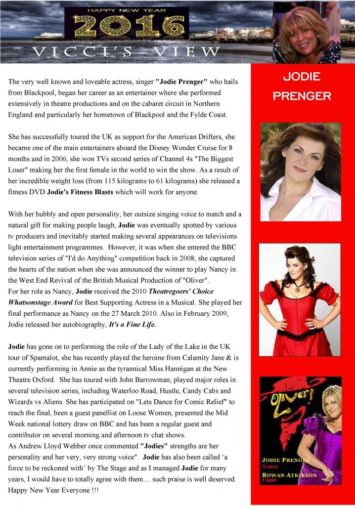 Jodie Prenger UK Cabaret