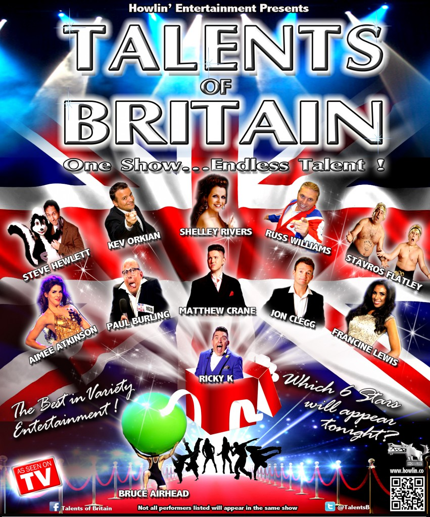 Talents Of Britain Official Poster