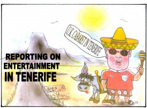 Tenerife Cartoon