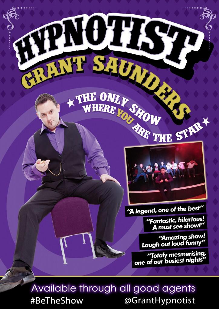Grant Saunders Poster