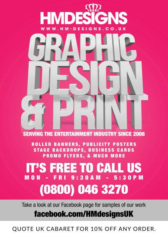hm designs advert