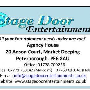 Stage door entertainments