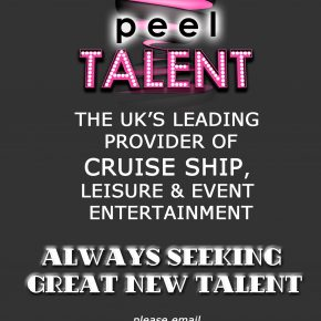 Peel Talent advert