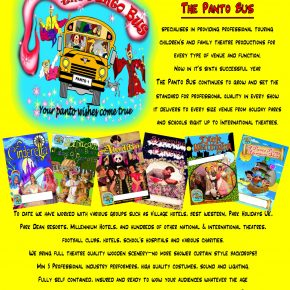 The Panto bus is coming