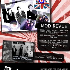 The Act Store July 18 advert Mod Revue
