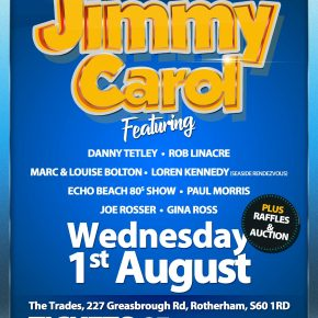 Jimmy Carol fund raising night