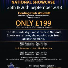 Curtains up national showcase