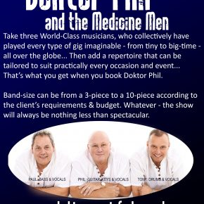 Doctor Phil and the medicine men