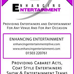 Enhancing Entertainment advert