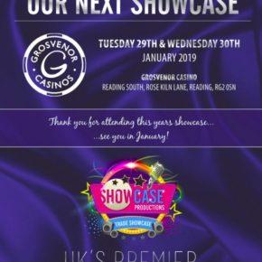 Showcase Productions next showcase