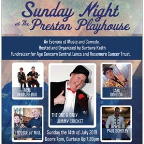 Sunday night at the Preston play house