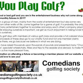 Comedians golfing society