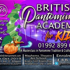 British pantomime acadamy