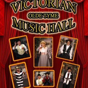 Victorian old tyme music hall
