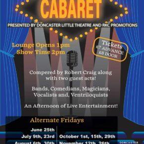 Afternoon cabaret Doncaster