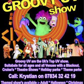 Groovy UV show advert