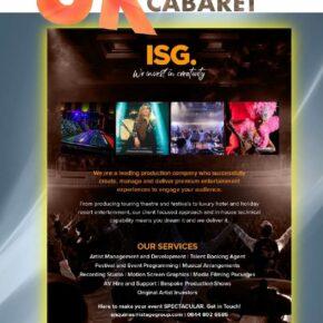 UK CABARET April 2021 Issue 86